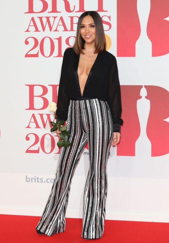 Myleene Klass – 2018 Brit Awards in London