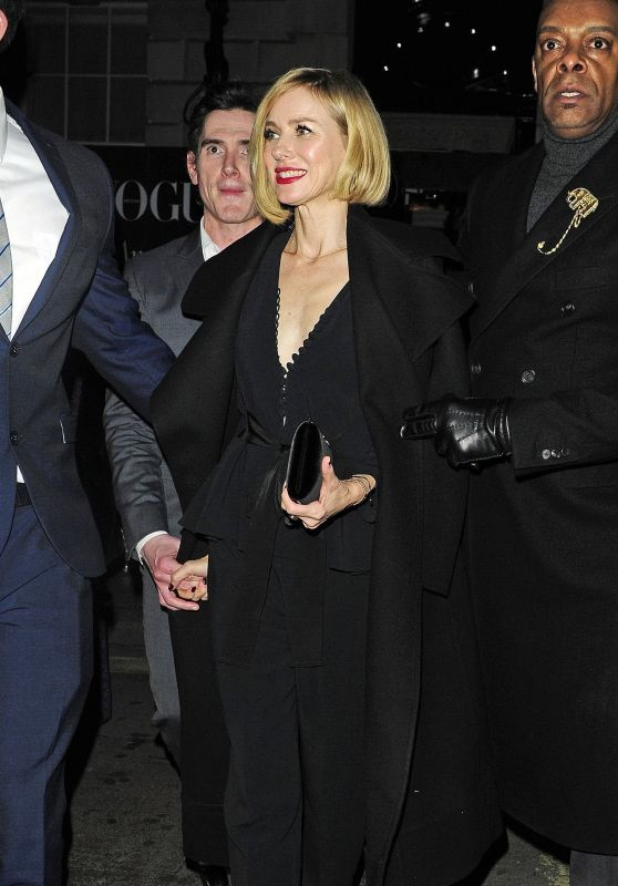 Naomi Watts – Vogue and Tiffany & Co BAFTA Afterparty in London