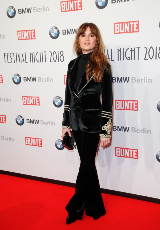 Natalia Avelon - BUNTE & BMW Host Festival Night 2018, Berlinale 2018