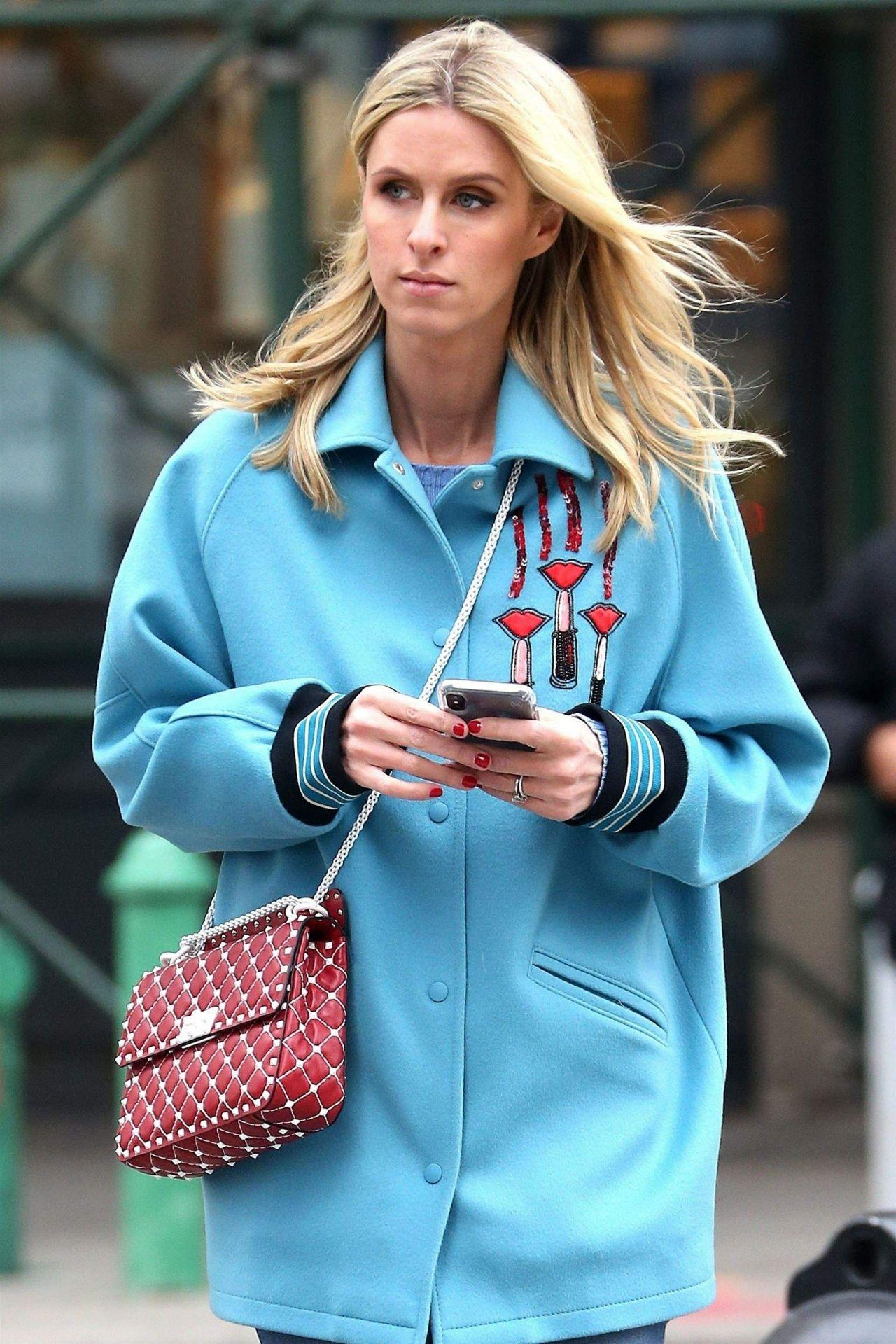 Nicky Hilton Street Style New York City 02 14 2018