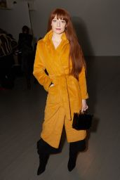 Nicola Roberts - Arrives at the Faustine Steinmetz Show, LFW 02/19/2018