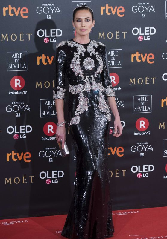 Nieves Alvarez – 2018 Goya Awards in Madrid