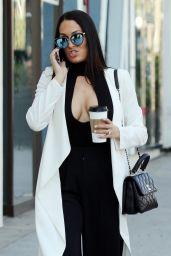Nikki Bella Street Fashion - Beverly Hills 02/05/2018