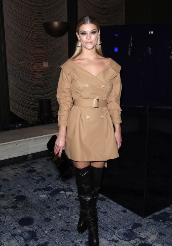 Nina Agdal – Stuart Weitzman FW18 Presentation and Cocktail Party in NYC