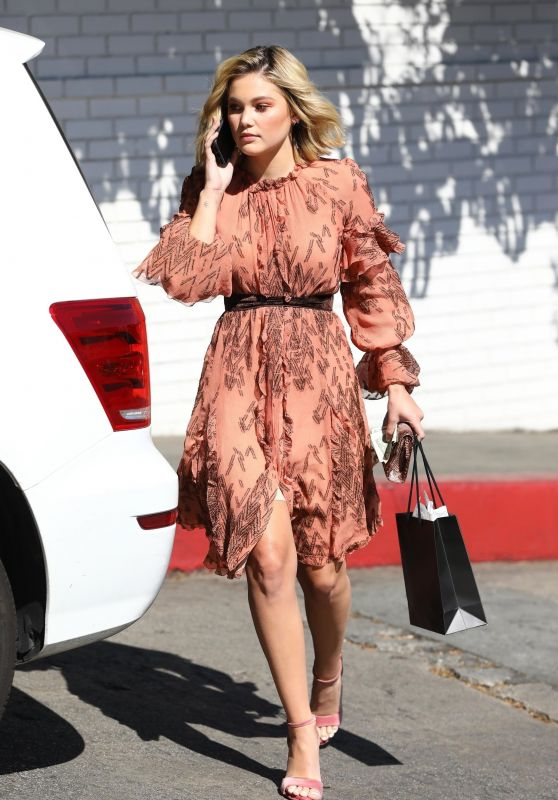 Olivia Holt - Leaving the CFDA Luncheon at the Chateau Marmont in LA
