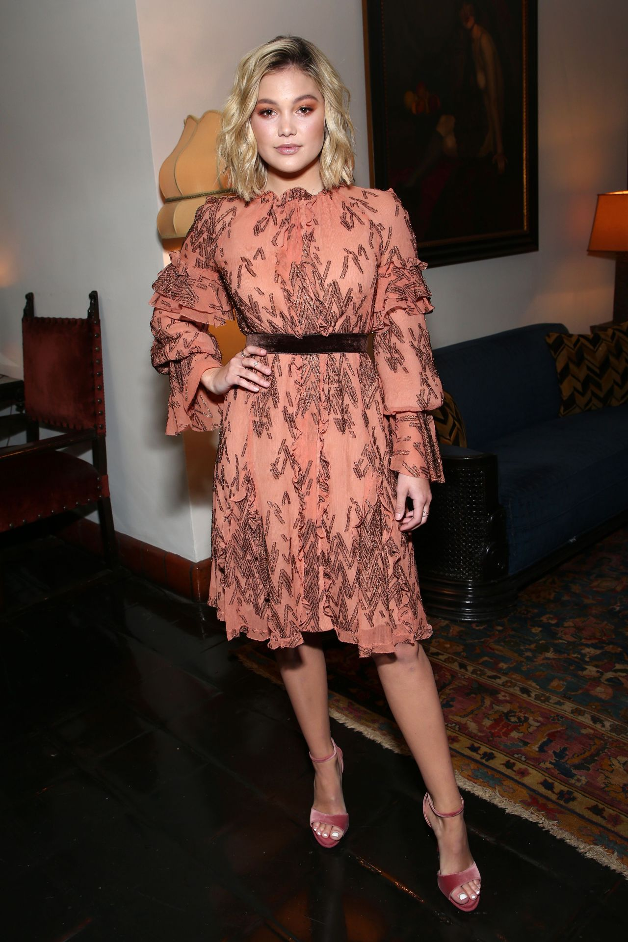 Olivia Holt Variety Wwd And Cfda S Runway To Red Carpet
