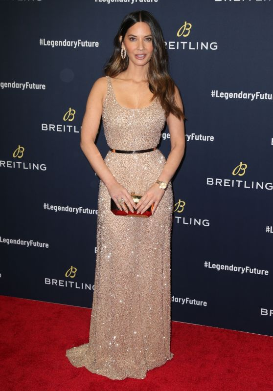 Olivia Munn – Breitling Red Carpet Event in NYC