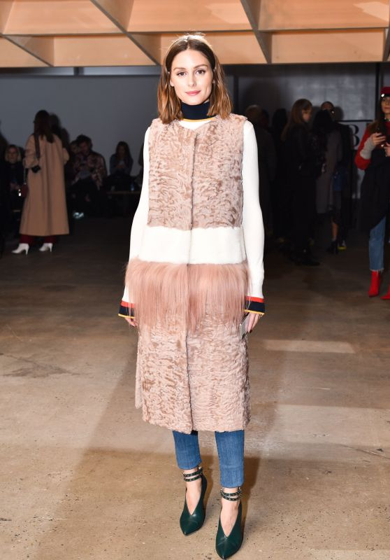 Olivia Palermo - Fiji Water at Self Portrait Show FW18 at NYFW