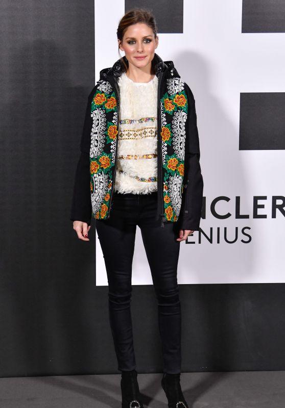 Olivia Palermo – Moncler Genius Project, Milan Fashion Week 02/20/2018