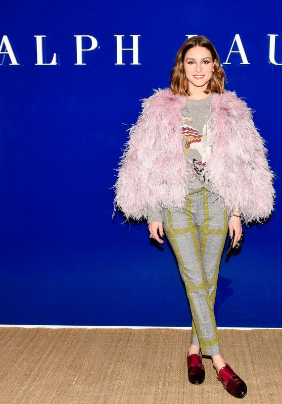 Olivia Palermo – Ralph Lauren Show FW18 at NYFW