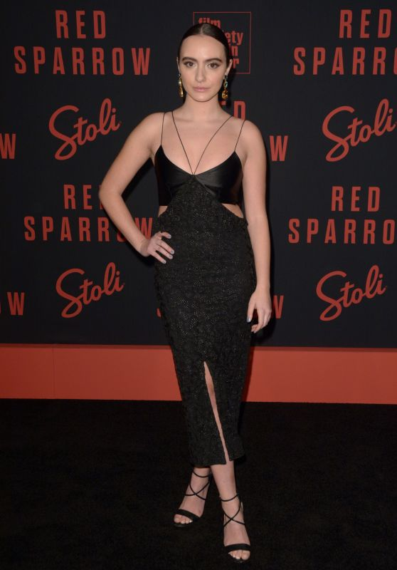 """Olivia Perez – """"Red Sparrow"""" Premiere in NYC"""