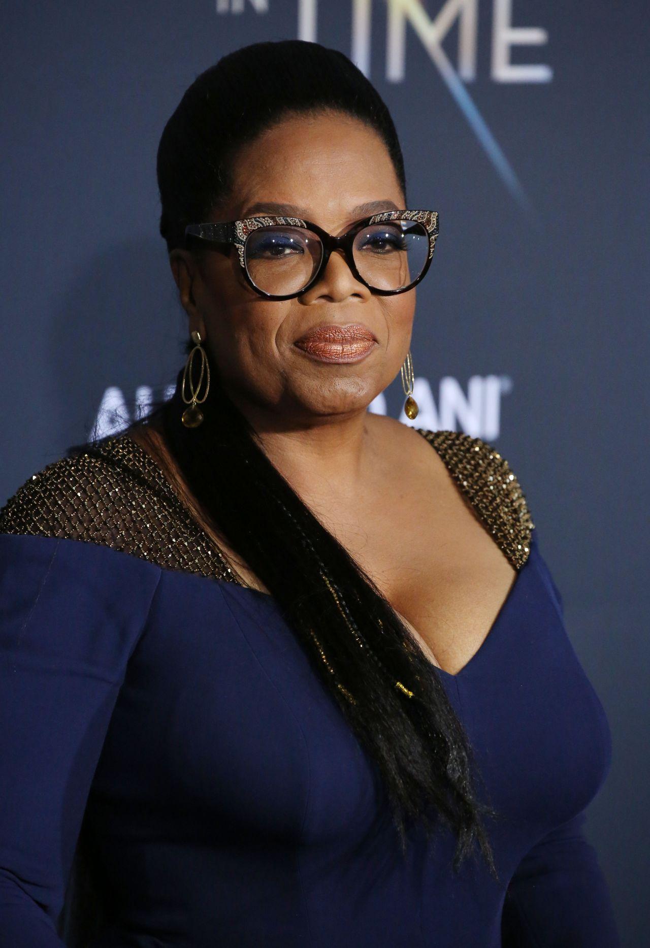 """Oprah Winfrey – """"A Wrinkle in Time"""" Premiere in Los Angeles  Oprah Winfrey �..."""