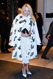 Pamela Anderson - Arrives at Her Hotel in Milan 02/22/2018