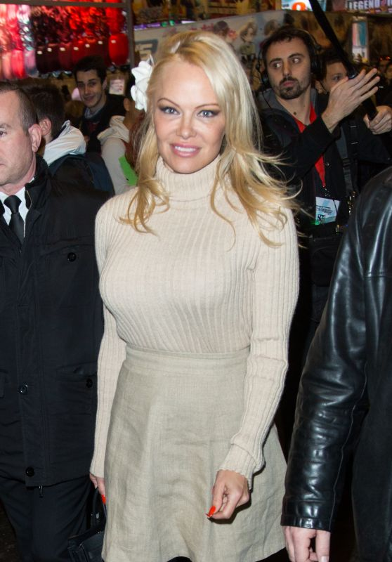 Pamela Anderson - Paris Manga & Sci-Fi Show in Paris 02/03/2018