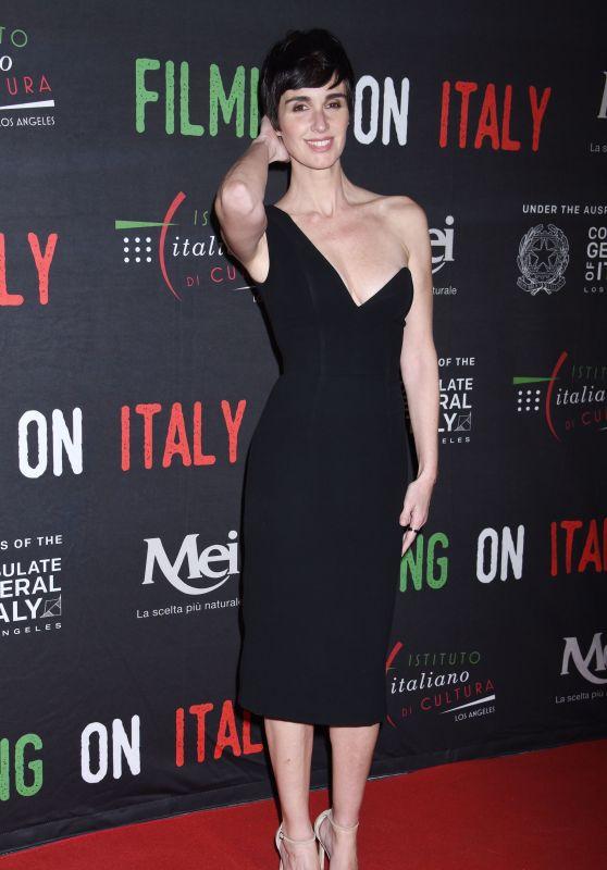 Paz Vega - Italian Institute of Culture Los Angeles Creativity Awards 2018