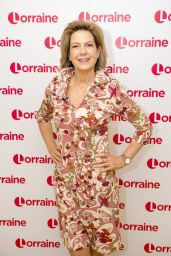 Penny Smith - Lorraine TV Show in London 02/01/2018