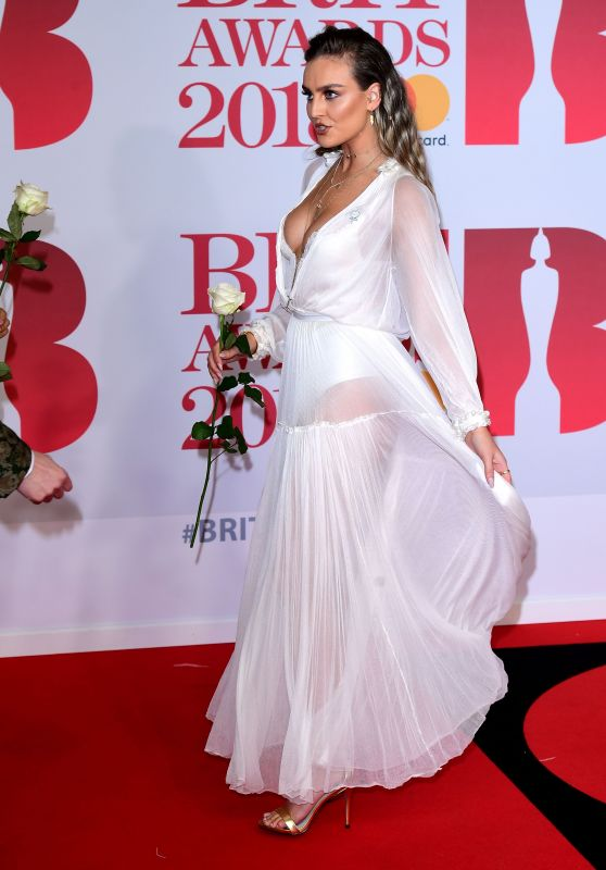 Perrie Edwards – 2018 Brit Awards in London