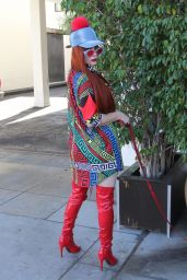 Phoebe Price and Sophia Vegas at E Baldi in Beverly Hills 02/07/2018