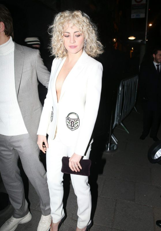 Pixie Lott - Vogue x Tiffany & Co BAFTA Afterparty at Club in Mayfair
