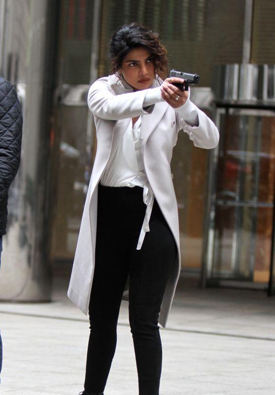 "Priyanka Chopra, Alan Powell, Johanna Braddy - ""Quantico"" Set in Manhattan, NYC"