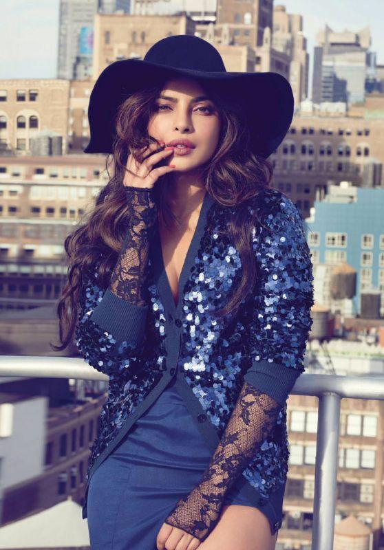 Priyanka Chopra - Filmfare February 2018