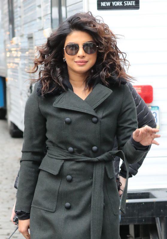 "Priyanka Chopra - ""Quantico""Movie Set in New York 02/04/2018"