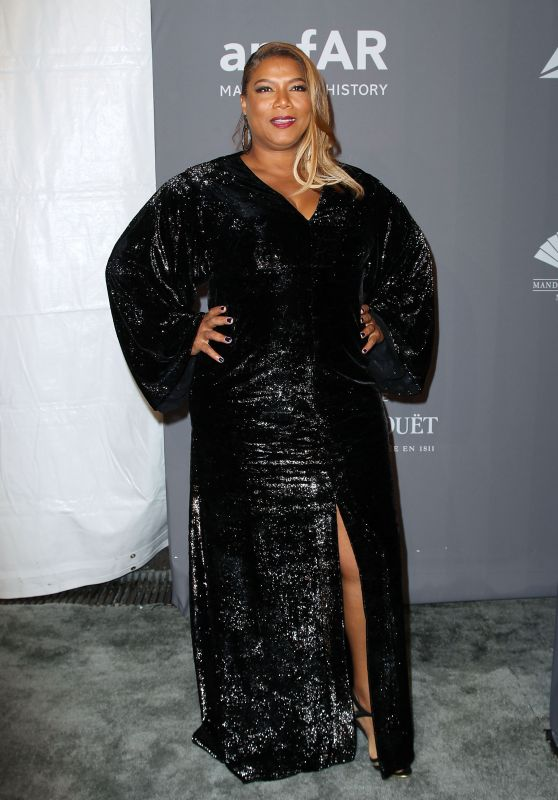Queen Latifah – 2018 amfAR Gala in NYC