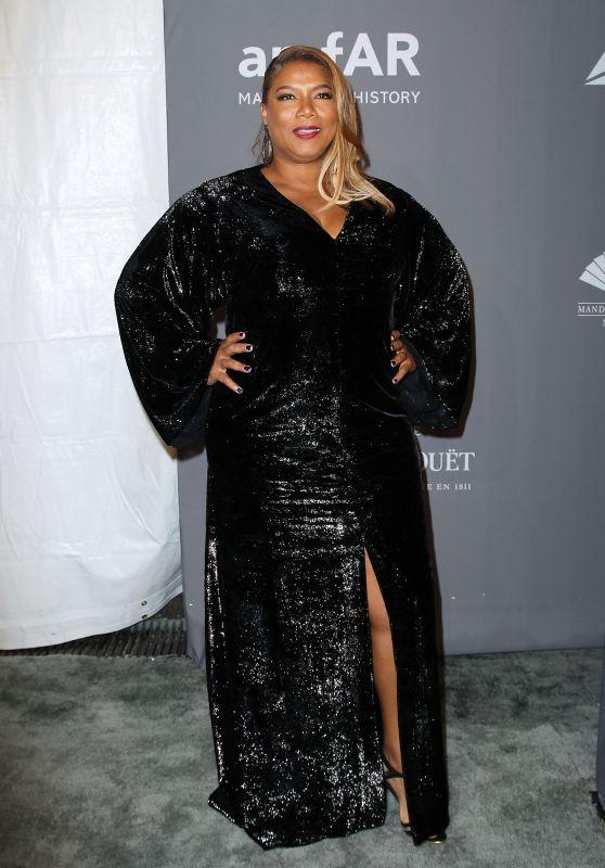 Queen Latifah – 2018 amfAR Gala in NYC
