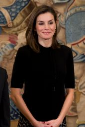 Queen Letizia Ortiz of Spain - Presentation of the 28th Edition of Tomas Francisco Prieto in Madrid