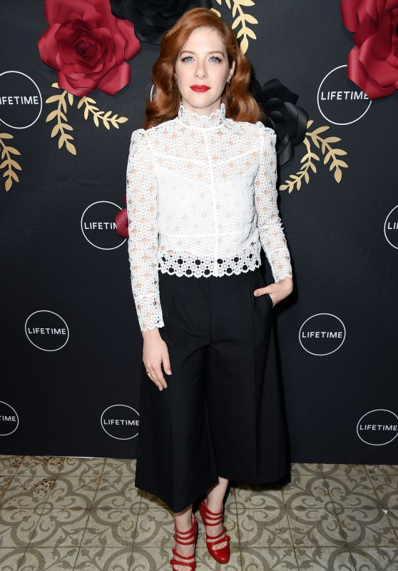 "Rachelle LeFevre - ""Unreal"" and ""Mary Kills People"" Lifetime Party in Los Angeles"