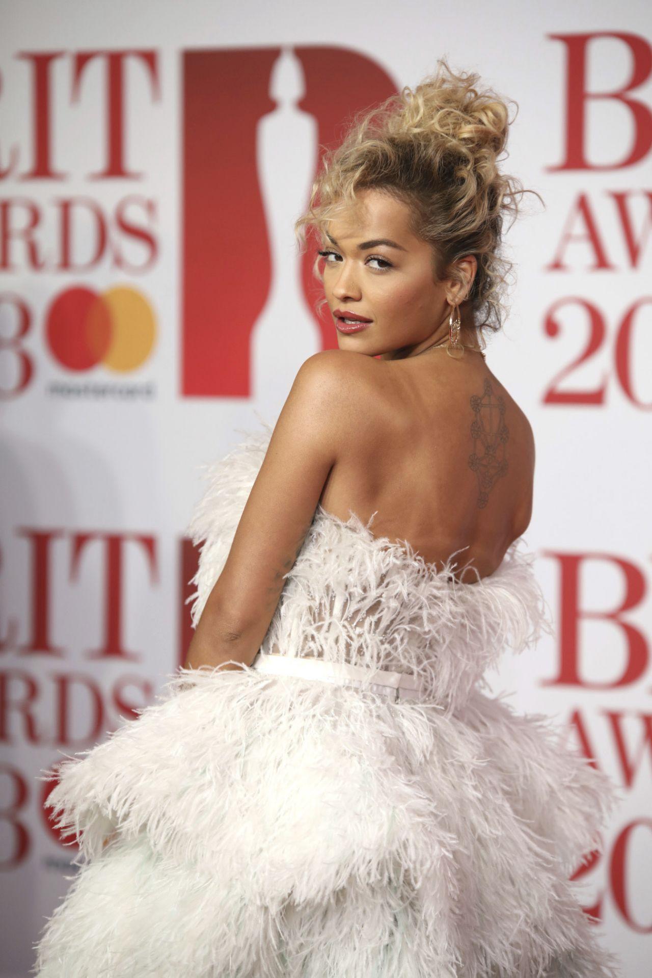 Rita ora brit awards - 3 part 1