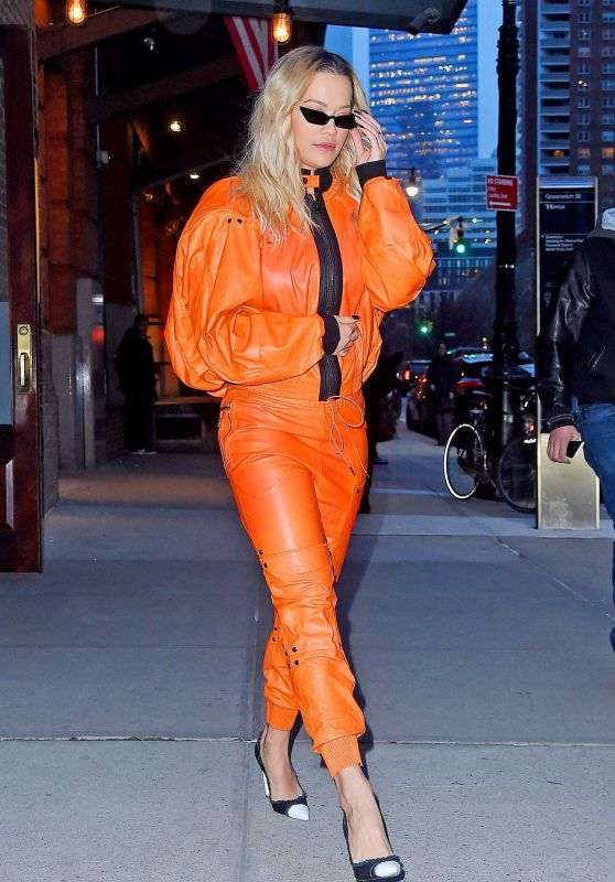 "Rita Ora - Heads to ""Late Night with Seth Meyers"" in NYC 02/01/2018"