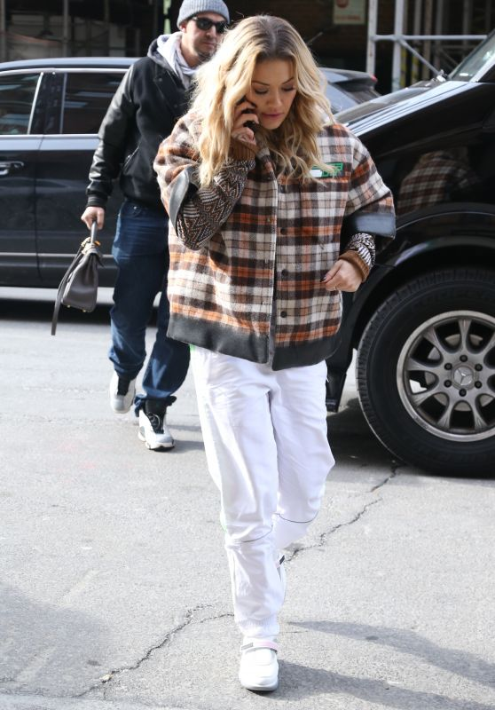 Rita Ora in Casual Attire Out in New York City 02/01/2018