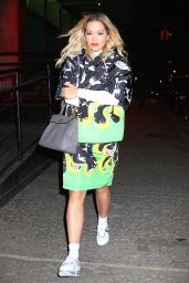 Rita Ora - Out in NYC 01/31/2018