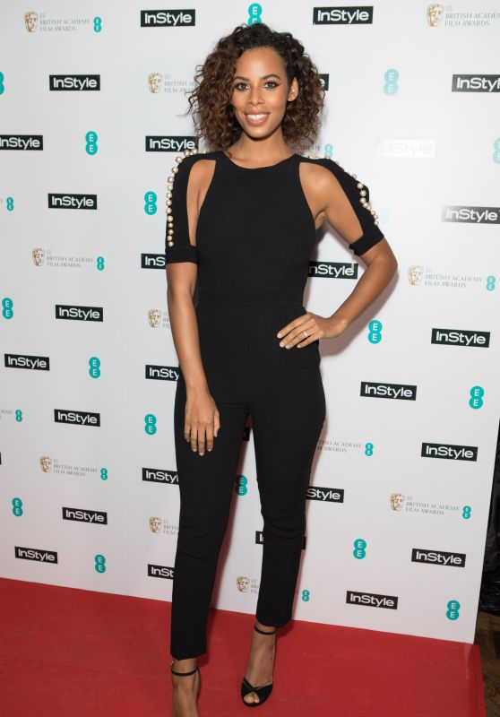 Rochelle Humes - 2018 BAFTAs Pre Party in London