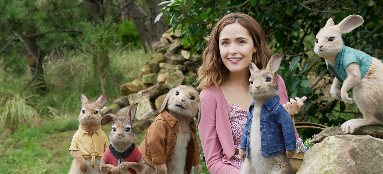 Rose Byrne Quot Peter Rabbit Quot Movie Photos