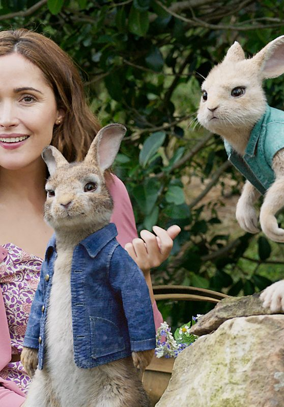 "Rose Byrne - ""Peter Rabbit"" Movie Photos"