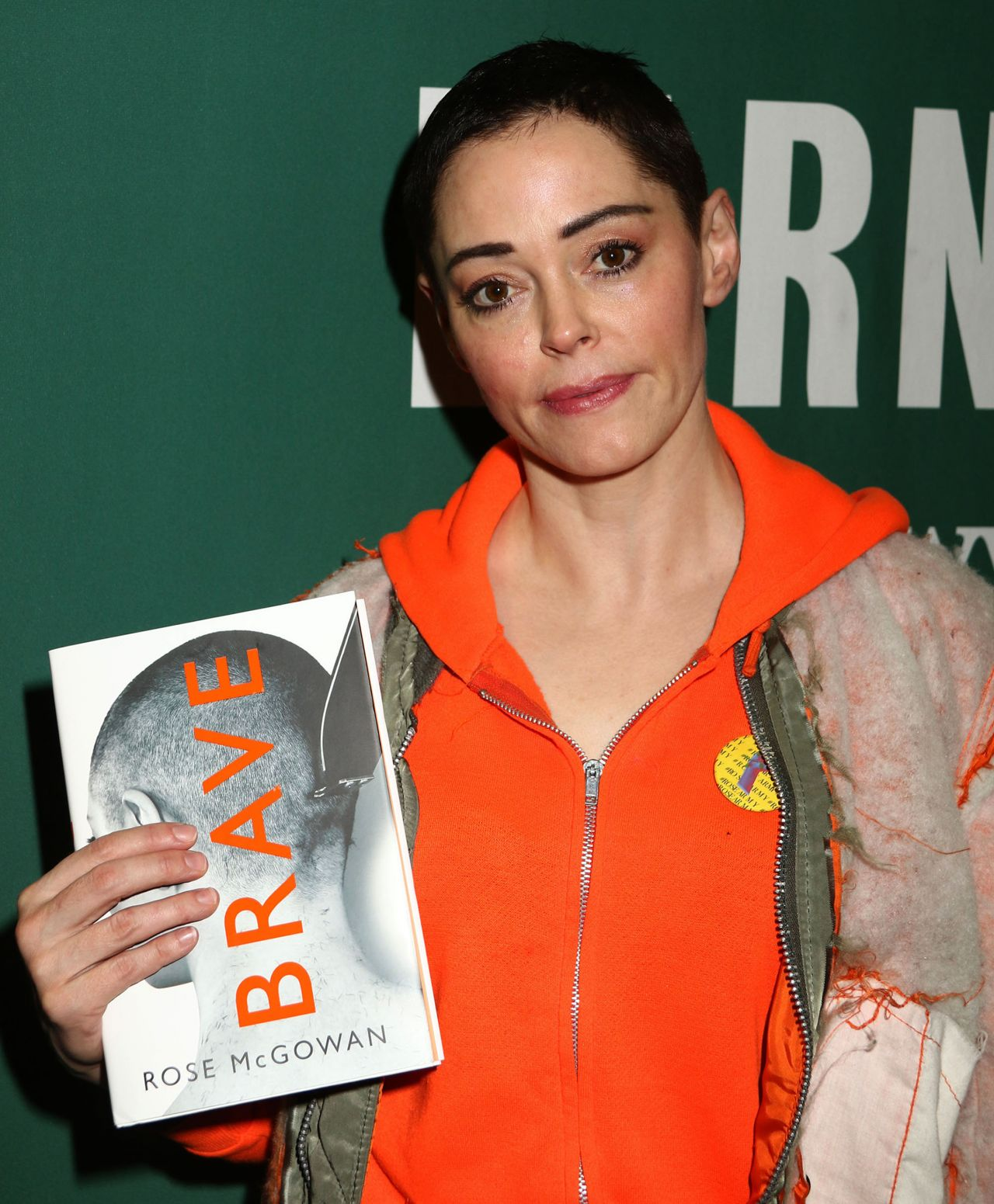 "Promotes Her New Book ""Brave"" In New York"