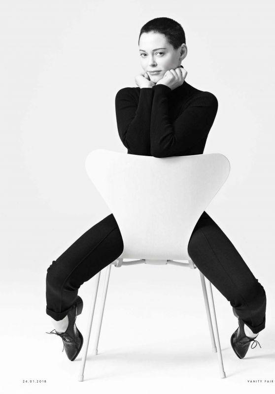 Rose McGowan - Vanity Fair Italia N.3