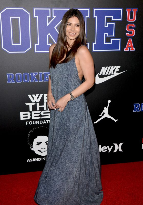 Roselyn Sanchez – Rookie USA Show in Los Angeles
