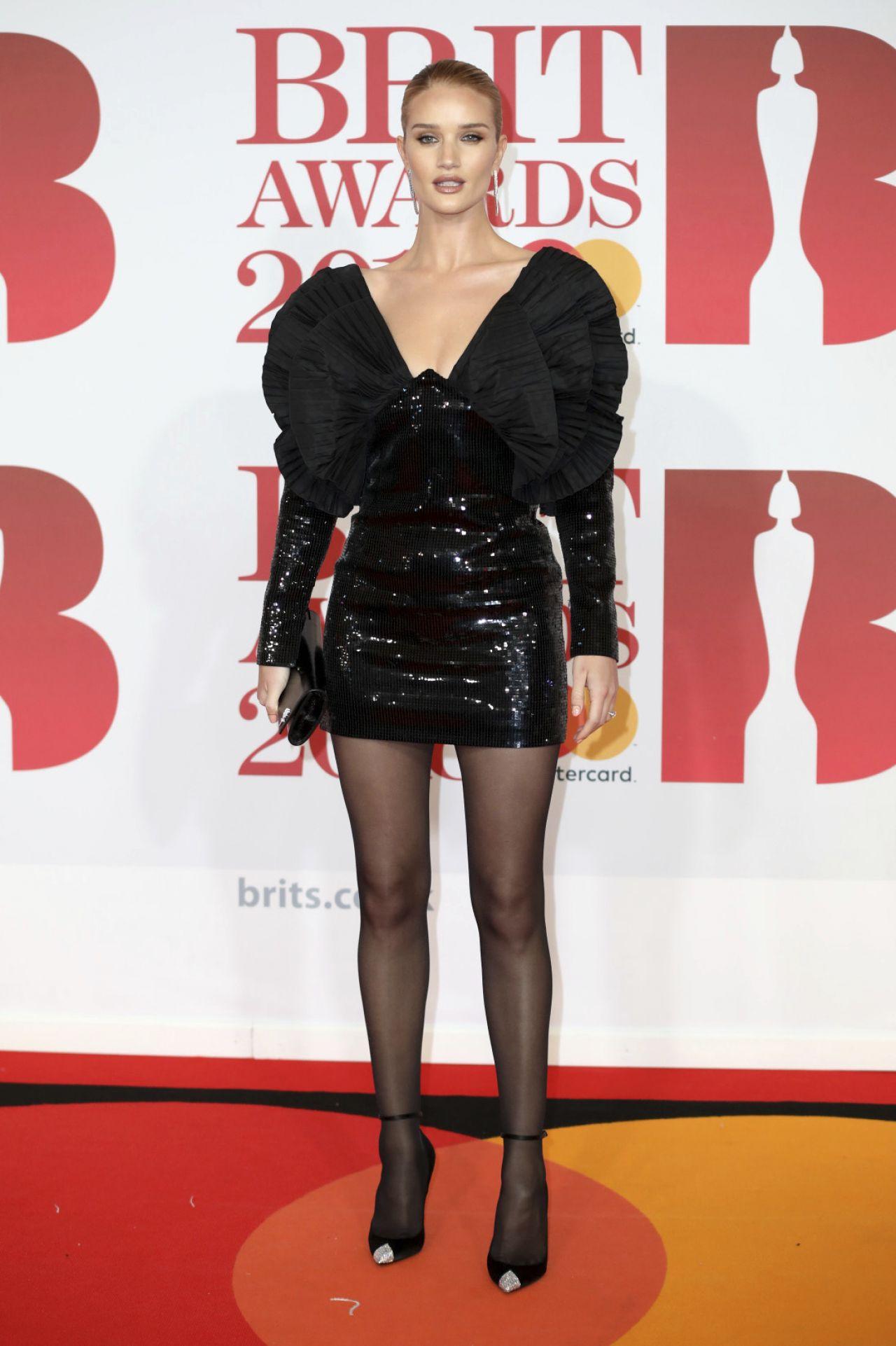 rosie huntingtonwhiteley � 2018 brit awards in london