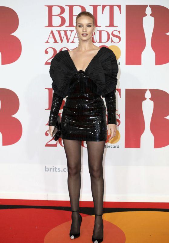 Rosie Huntington-Whiteley – 2018 Brit Awards in London