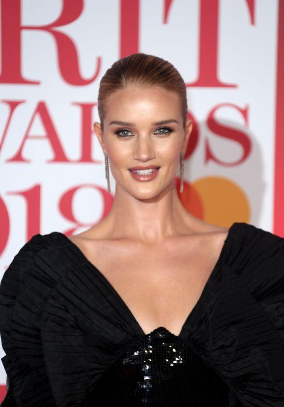 Rosie Huntington-Whiteley - 2018 Brit Awards in London (More Pics)