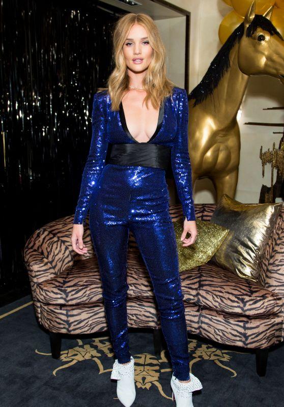 Rosie Huntington-Whiteley - Bergdorf Goodman x Dundas Party FW18 at NYFW