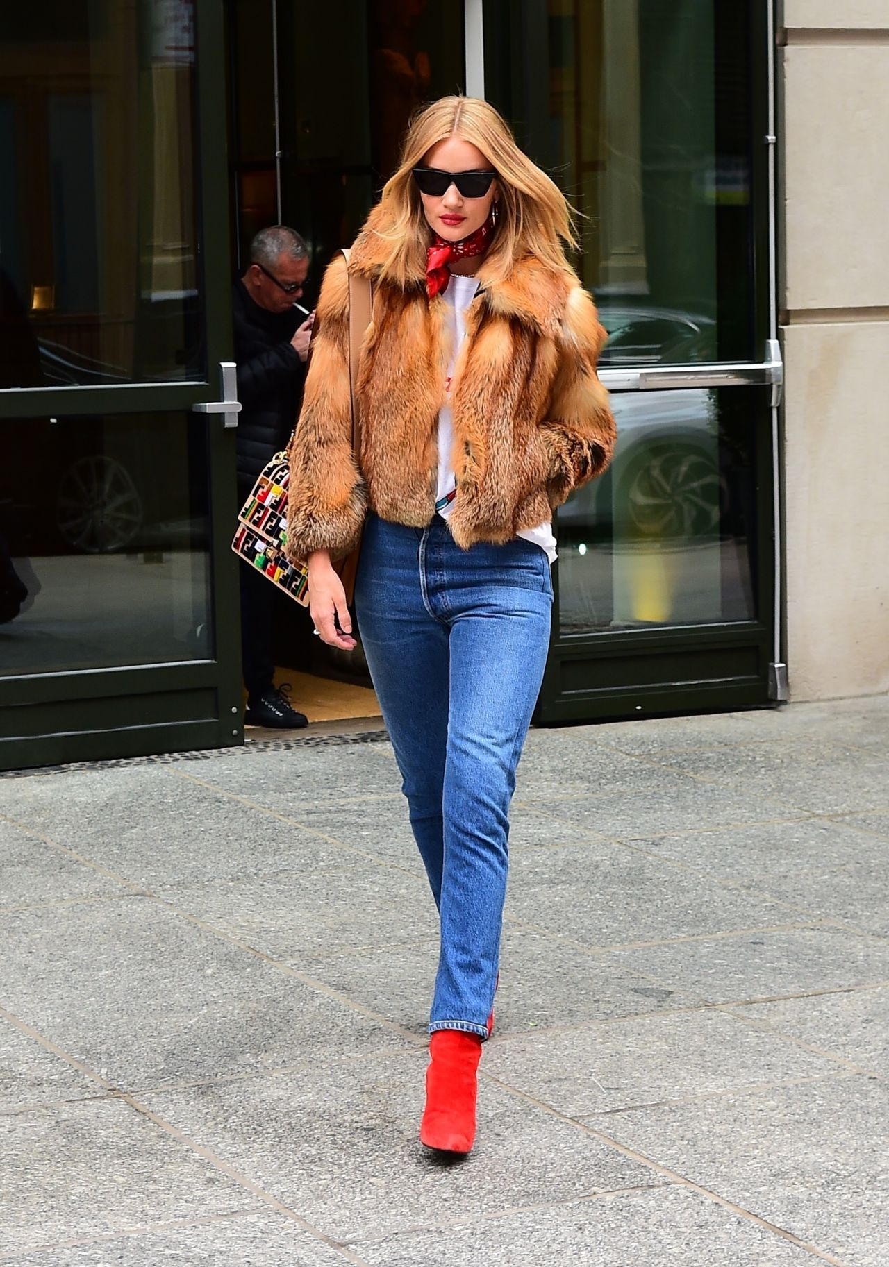 Rosie Huntington Whiteley Street Fashion New York City