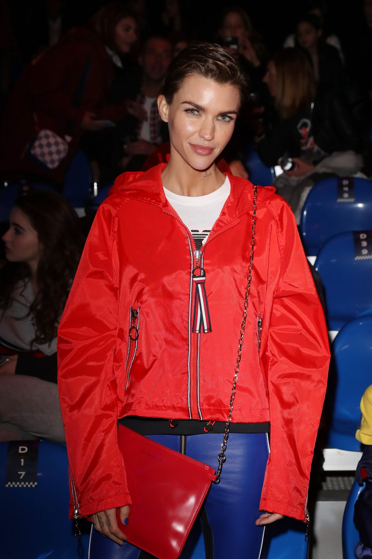 Ruby rose tommy hilfiger show sw18 in milan - Tommy hilfiger show ...