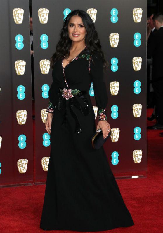 Salma Hayek – 2018 British Academy Film Awards