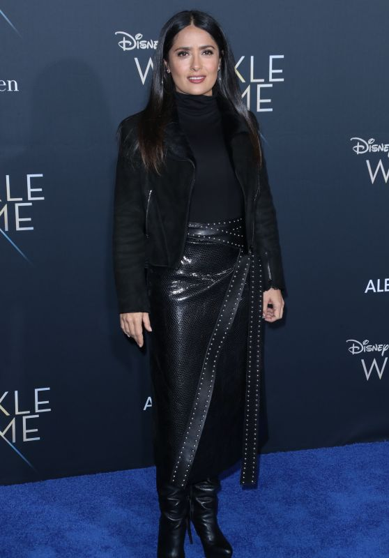 "Salma Hayek – ""A Wrinkle in Time"" Premiere in Los Angeles"
