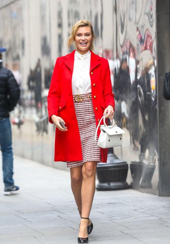 Samantha Hoopes Fashion Style - Leaving Good Day NY 02/14/2018