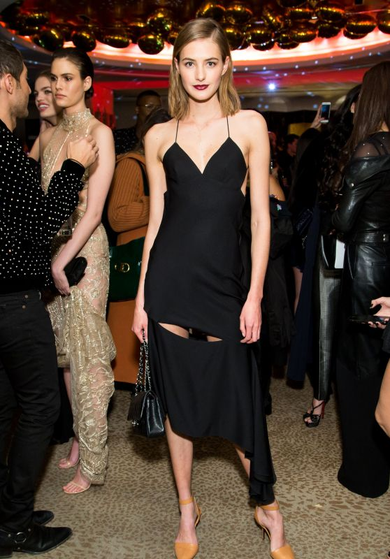 Sanne Vloet - Bergdorf Goodman x Dundas Party FW18 at NYFW